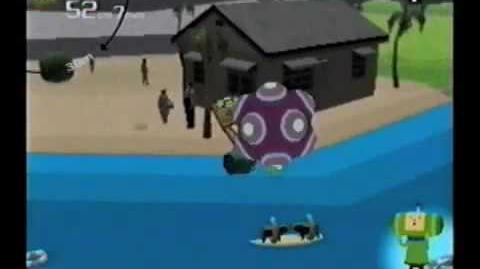 Katamari Damacy Glitch - Make A Star 9 - Floating Katamari
