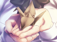 Lilly's origami crane