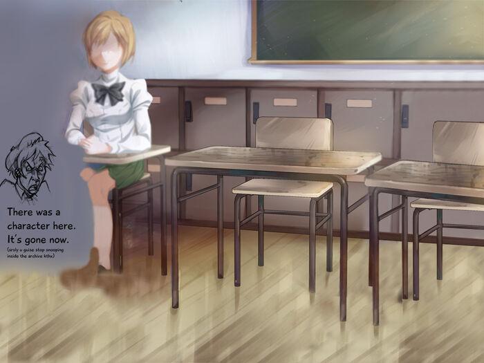 Hanako emptyclassroom bg