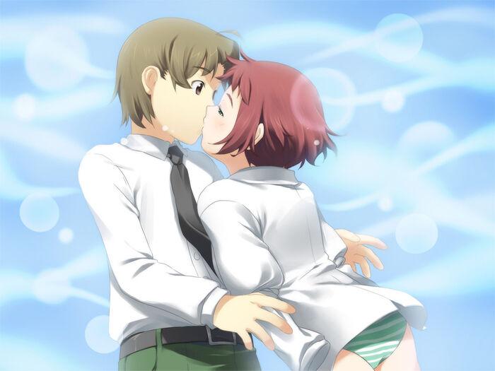 Rin kiss
