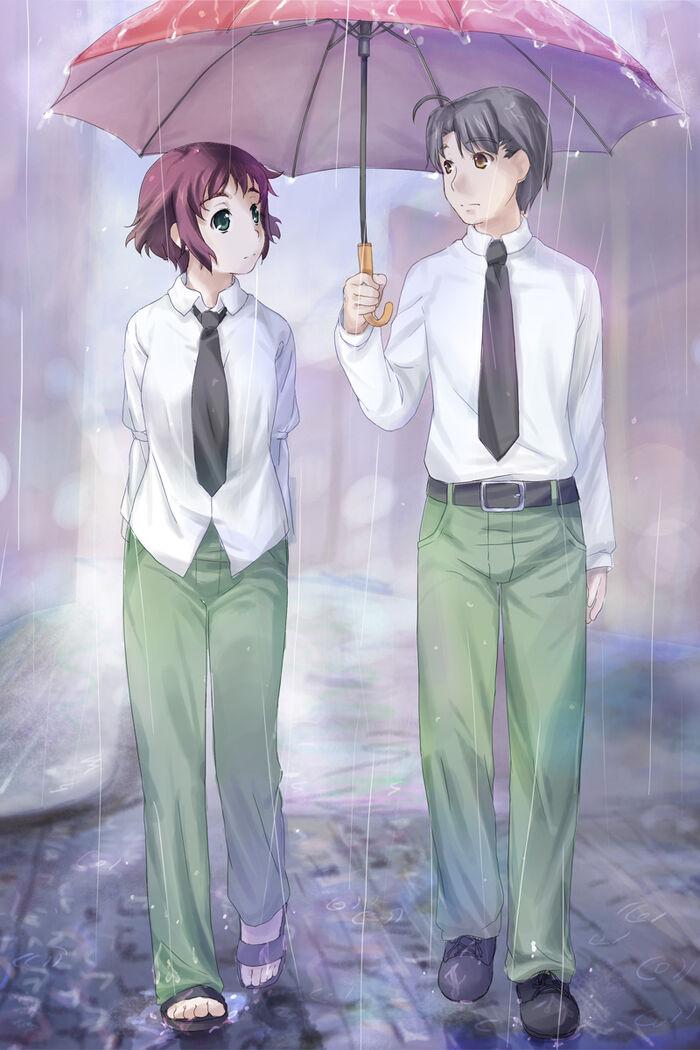 Rin rain towards close