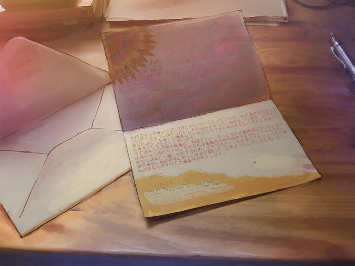 Hisao letter open
