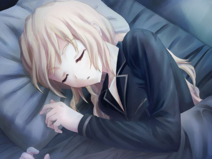 Lilly sleeping