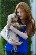 Kat and dog
