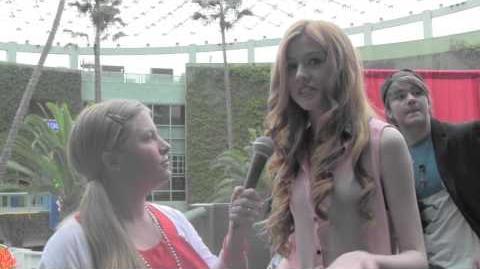 Kat McNamara Interview at Valentines Bash 2013