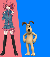 Gromit and Kasane Teto