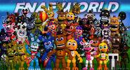 Fnaf world adventure animatronic resubido by bluewolfavenger-d9a1hai