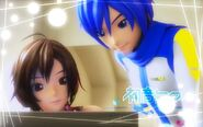Project diva f kaito and meiko updated by 321soraqua123-d5ajga7