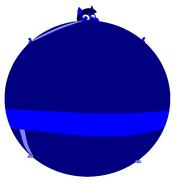 Violet Beaurgarde cat blueberry form