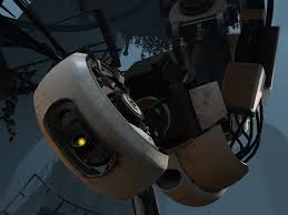 GLaDOS facing Katie