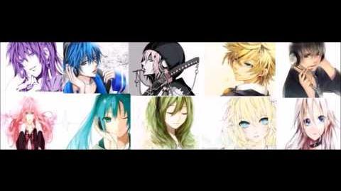 Vocaloid chorus- 騎当千 【Ikkitousen】Miku,Kaito,Luka,Gakupo,Gumi,VY2 Yuma,Rin,Len ,Kiyoteru, IA