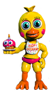 Adventure toy chica by corruptedspringtrap-d99t0cy