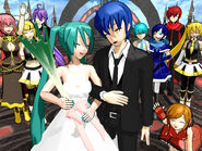 Kaito and miku marriage by 10565karla-d4aj0ms