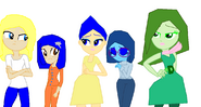 Me Coraline and emotion girls