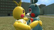 Toy bonnie x toy chica by bruhifab-d8u5h2r