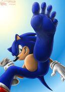 Sonic's feet