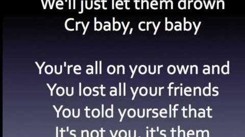 Cry baby clean lyrics