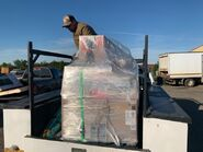 Equipment being shipped to Brooks Camp June 11, 2019 or before photo posted by Courtney at Explore