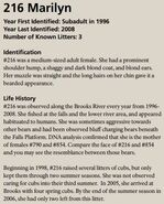MARILYN 216 INFO 2016 BoBr PAGE 88 INFO ONLY