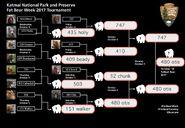 2017 FAT BEAR WEEK OCTOBER MADNESS BRACKET CHALLENGE MOSIAC WORLD WINNING BRACKET