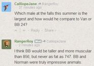 NORMAN 864 INFO TRULY IMPRESSIVE ANIMAL RANGER ROY 2014.07.30 COMMENT