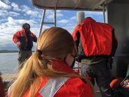 Ranger's boat trip across Naknek Lake to Brooks Camp June 13, 2020 NPS photo by Ranger Naomi Boak .02
