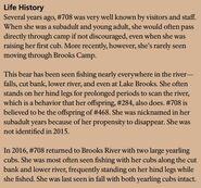 AMELIA 708 INFO 2017 BoBr PAGE 58 LIFE HISTORY ONLY