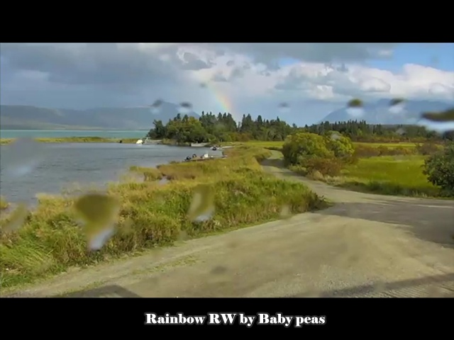 BabyPeas rainbow