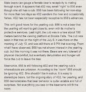 402 information Ranger Mike Fitz's comment July 11, 2014 regarding 856 .02