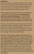 856 INFO 2016 BoBr PAGE 79 LIFE HISTORY