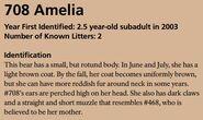 AMELIA 708 INFO 2017 BoBr PAGE 58 IDENTIFICATION ONLY