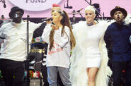 Ariana-grande-one-love-manchers-katy-perry-billboard-1548