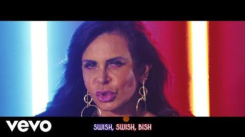 Katy Perry - Swish Swish (Lyric Video Starring Gretchen) ft