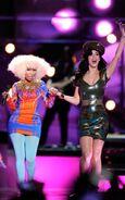 Nicki Minaj Katy Perry 1