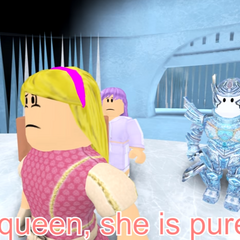 She asks the Snow Queen for help.