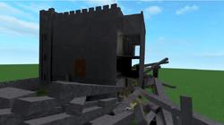 Castle gets crashed
