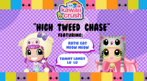 High Tweed Chase Card
