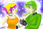 Shigarume and Eluda by kazaki03