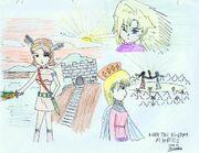 Enika the kingdom of justice by kazaki03