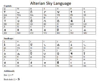 Alterianskylanguage