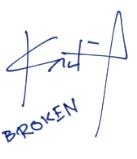 Broken sig