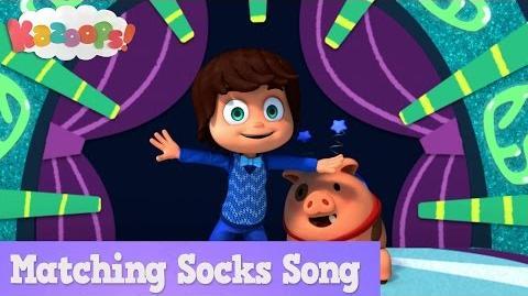 Kazoops! Matching Socks Song