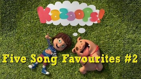 Kazoops! - Five Song Favourites 2