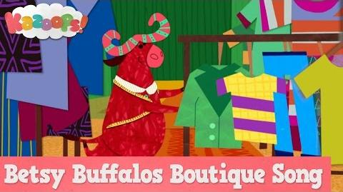 Kazoops! Betsy Buffalo's Boutique Song