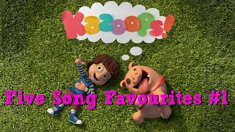 Kazoops! - Five Song Favourites 1