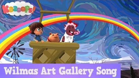 Kazoops! Wilma's Art Gallery Song