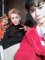 Renjun, Yuta & Doyoung Dec 28, 2018