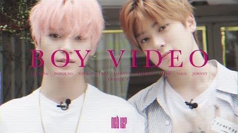 NCT 127 BOY VIDEO EP