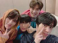 Xiao Jun, Ten, Kun & Hendery Jan 22, 2019