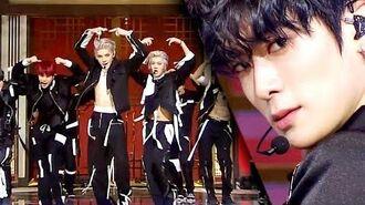 NCT 127 - Prelude (서곡) Kick It (영웅) SBS Inkigayo Ep 1038